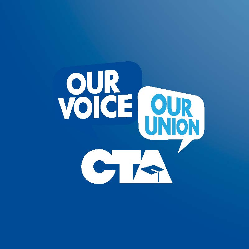 CTA Our Voice Our Union 2015 quote bubbles